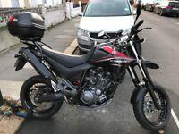 Yamaha XT660X Supermoto Motorbike