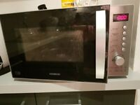 Kenwood stainless steel microwave, 800w
