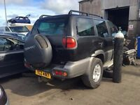 2003 3.0 Diesel Nissan Terrano II, Breaking for parts only. Postage Nationwide