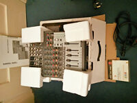 Behringer Xenyx 1204 4-channel mixer with original packaging