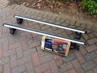 Thule Aero Roof Bars (869) with Rapid Foot System (750)