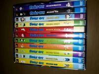 Awaiting collection - Family guy DVD boxset seasons1-11