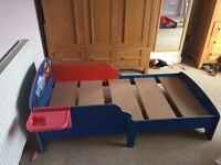 Lightning McQueen toddler bed