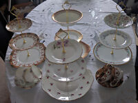 Wedding & Tea party cake stands