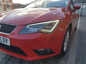 SEAT Leon 1.6 TDI SE (TECH PACK) 106 BHP, FSH, £0 Tax ,S/S, MOT until 28th Sept., Great Family Car