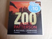 "James Patterson ""Zoo"" Audio Book"