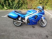 2003 Triumph Sprint ST 955i with matched luggage