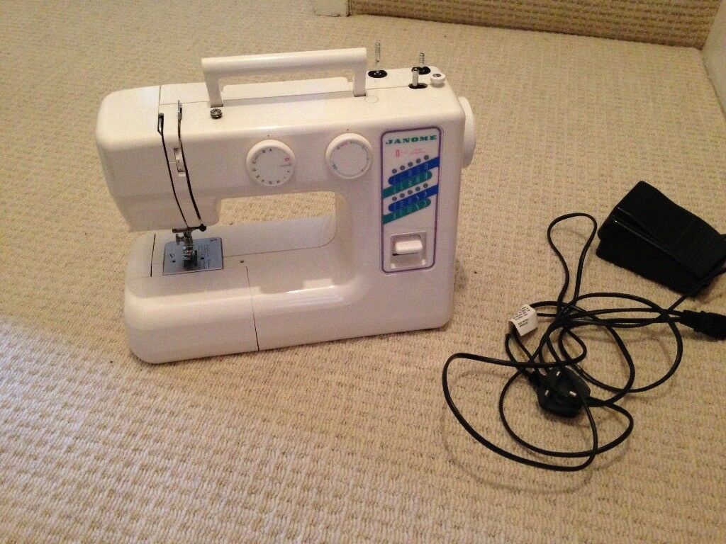 Janome Sewing Machine (model JD1818)