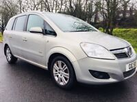 Vauxhall Zafira 1.8 Design Seven Seater - 7 ford galaxy sharan vw renault espace estate bmw merc q7
