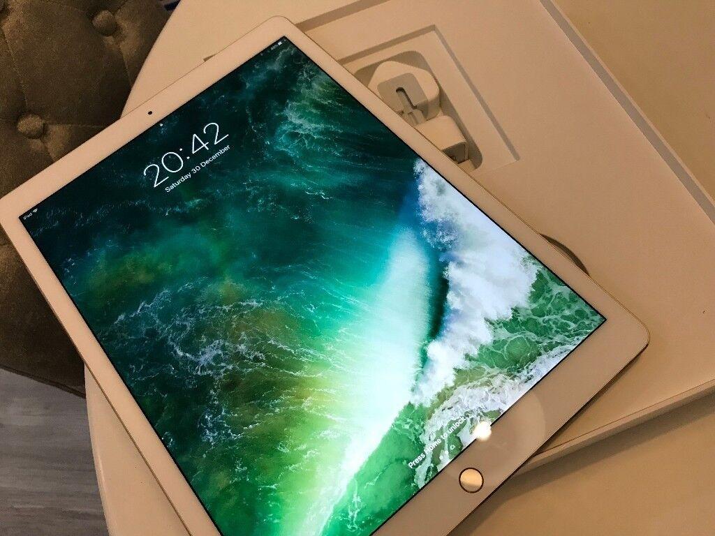 Apple Ipad Pro 2nd Generation 256gb 129 Inch Gold In Tunbridge