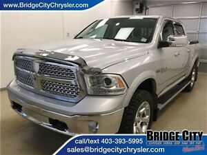2015 Ram 1500 Laramie Crew Cab Loaded- Sunroof, NAV!