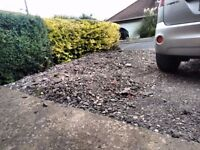 Free Stone Rubble Road Chippings Gravel For Collection