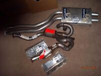 BMW E39 Front Cats and Mid Pipe New