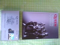 QUEEN collectors book +3 cd box