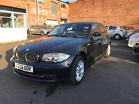 BMW 1 SERIES 1.6 116i SE 5 DOORS BLACK