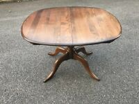 Ercol Oval Pedestal Dining Table Golden Dawn Extends Chester Possible delivery