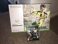 Xbox one s 500gb 2 games like new