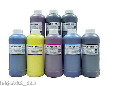 8x500ml Waterproof Pigment Refill Ink For Hp70 Designjet ...
