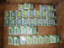 Packs of energizer rechargable batteries
