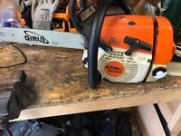 Stihl ms240 chainsaw