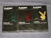 54 Packs Playboy Condoms in Sealed boxes of 12 each box total 648 condom JOB LOT