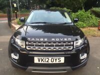 RANGE ROVER EVOQUE AUTOMATIC, LEATHER, PANORAMIC ROOF, BLUETOOTH, USB, AUX, MOT, HPI CLEAR, MINT