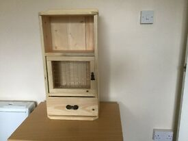 UNIQUELY HANDMADE UNIT FROM RECYCLED SOLID PINE