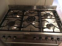 SMEG range cooker free standing 90cm width
