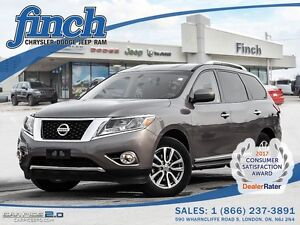 2014 Nissan Pathfinder SL/V6/7-PASS/LEATHER/WINTER TIRES