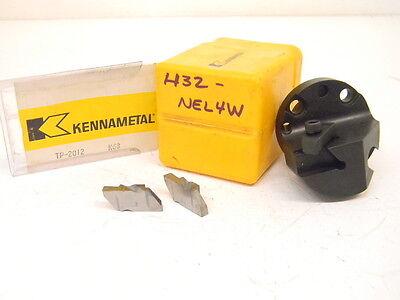 New Surplus Kennametal Interchangeable Boring Head H32-nel4w