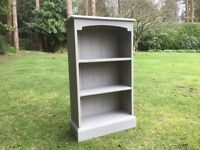 Small Hand Painted Shabby Chic Bookcase