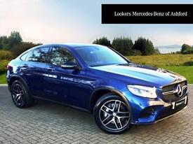 Mercedes-Benz GLC Class GLC 220 D 4MATIC AMG LINE PREMIUM (blue) 2016-10-31