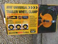 Universal Trailer Wheel Clamp