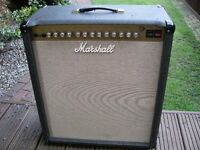 "Marshall JTM60 all valve 60 watt electric guitar amplifier - 1 x 15"" combo - England '95-'97"