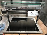 Hot Plate Display Carvery Flat Bed