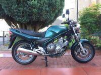 Yamaha xj n 600 Met Green,2001 Y reg 10,000 Mls