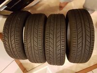 TYRES TO SALE 4x205/60/205 ONLY 6 MONTH OLD-WARRANTY!