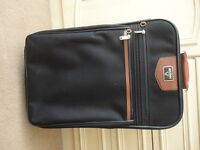 Antler Black Suitcase Small Wheels Pull Handle Case 54cm x 36cm