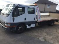 Mitsubishi Canter 1999 Double Cabin Tilt & Slide Recovery Truck