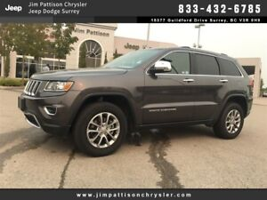 2016 Jeep Grand Cherokee Limited LEATHER 4X4