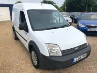 2006 FORD TRANSIT CONNECT 1.8 TDCI T230 LX90 PANEL VAN HIGH TOP WHITE