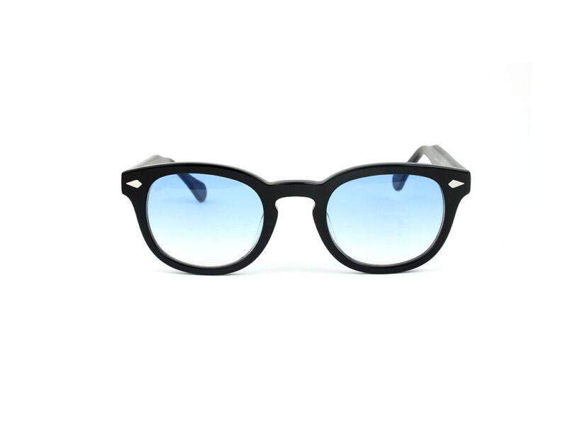 Occhiali da sole X-LAB 8004 stile moscot nero azzurro gradient