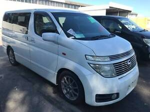 2003 Nissan Elgrand 3.5L V6 8 SEATER 4WD VAN $18999 OR $120 P/W* Beckenham Gosnells Area Preview