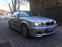 2003 03, E46 BMW 330ci MSPORT Convertible Auto, 82K, 8M MOT, 3 Owners, Full Service History, Xenons