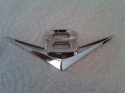 1 Piece Chrome V8 / V6 Car Emblem Trim Kit Badge DIY Custom (2011 Jeep Grand Cherokee V8 0 60)