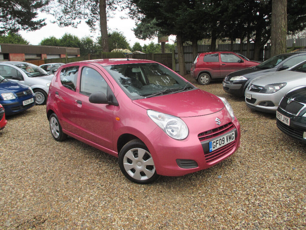 suzuki alto 1 0 petrol manual 5 door full 1 years mot 2. Black Bedroom Furniture Sets. Home Design Ideas