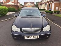 Mercedes Benz C CLASS (1 Previous owner and NO Advisory )- Quick sale