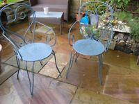 Bistro garden chairs for sale