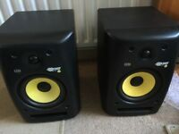 KRK ROKIT 6's Active Monitors (pair)