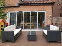 Stylish ratten garden furniture